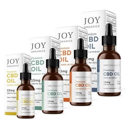 Best CBD Oil - Joy Organics CBD Oil Tinctures Review