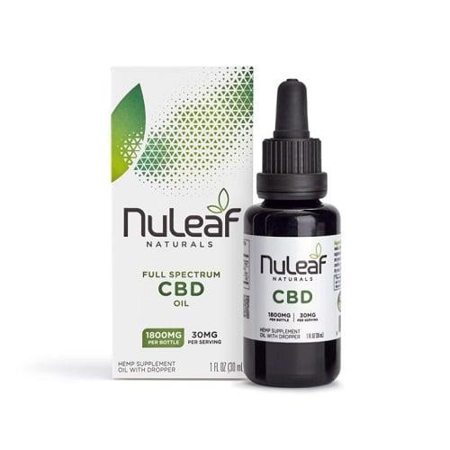 Best CBD Oil - NuLeaf Naturals Full Spectrum Hemp CBD Oil Review