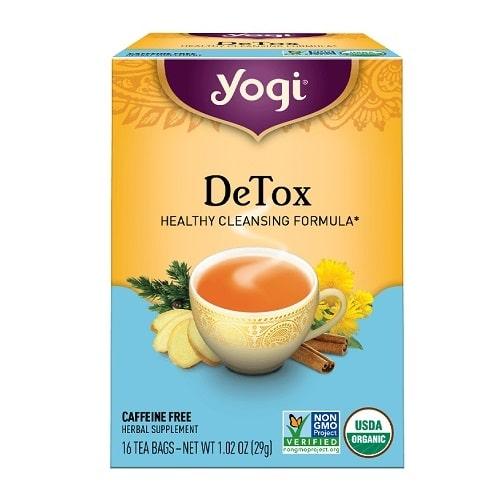 Best Appetite Suppressant - Yogi DeTox Tea Review