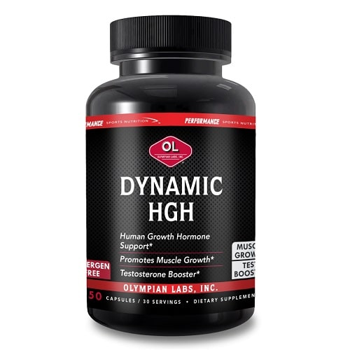 Best HGH Supplement - Olympian Labs PSN Dynamic HGH Review