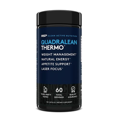 Best Fat Burner for Men - RSP Nutrition QuadraLean Thermo Review