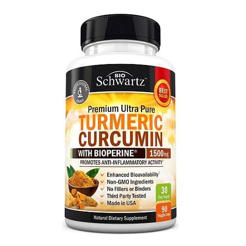 Best Turmeric Supplements - BioSchwartz Turmeric Curcumin Review