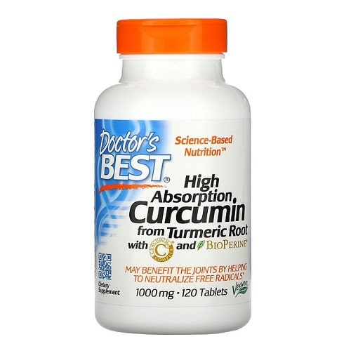 Best Turmeric Supplements - Doctor's Best Curcumin C3 Complex With BioPerine Review