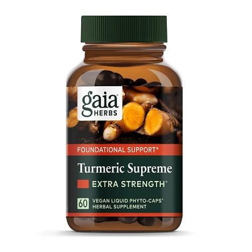 Best Turmeric Supplements - Gaia Herbs Turmeric Supreme Targeted Formulations Review