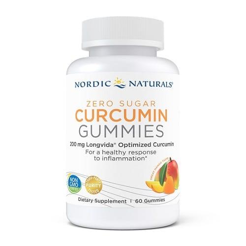Best Turmeric Supplements - Nordic Naturals Curcumin Gummies Review