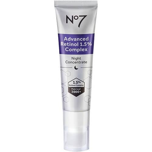 Best Anti-Aging Products - No7 Advanced Retinol 1.5% Complex Night Concentrate Review
