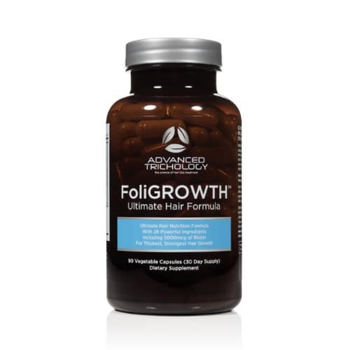 Best Hair Loss Treatment for Men - Advanced Trichology FoliGROWTH Review