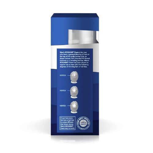 Best Hair Loss Treatment for Men - Men's Rogaine 5% Minoxidil Unscented Foam Review