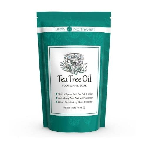 Best Nail Fungus Treatment - Purely Northwest Tea Tree Oil Foot Soak Review
