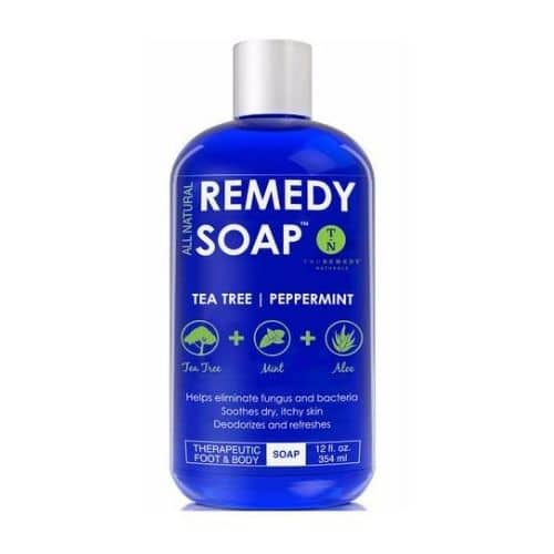 Best Nail Fungus Treatment - TruRemedy Naturals Remedy Soap Tea Tree Oil Body Wash Review