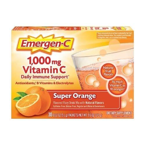 Best Vitamin C Supplement - Emergen-C Super Orange Immune Support Review