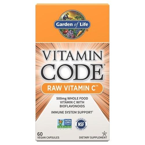 Best Vitamin C Supplement - Garden of Life Vitamin Code Raw Vitamin C Capsules Review