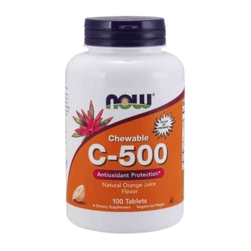 Best Vitamin C Supplement - NOW Foods Vitamin C-500 Orange Chewable Tablets Review