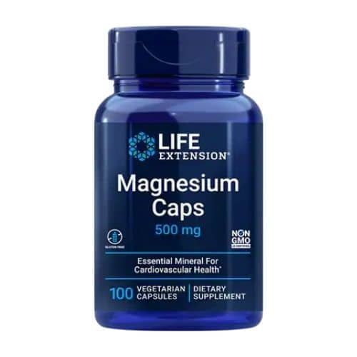 Best Magnesium Supplement - Life Extension® Magnesium Caps 500 mg Review
