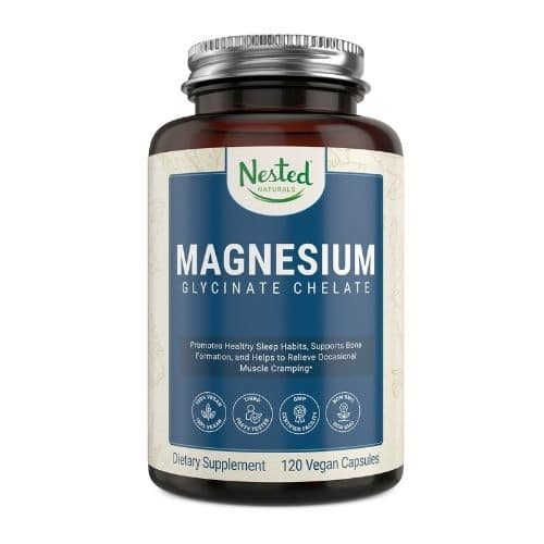 Best Magnesium Supplement - Nested Naturals® Magnesium Glycinate Chelate Review