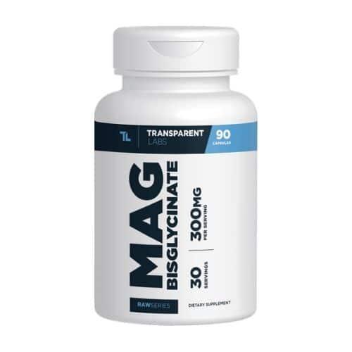 Best Magnesium Supplement - Transparent Labs RawSeries Magnesium Bisglycinate Review