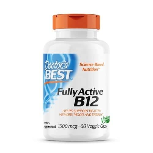 Best Vitamin B12 Supplement - Doctor's Best Fully Active B12 Review