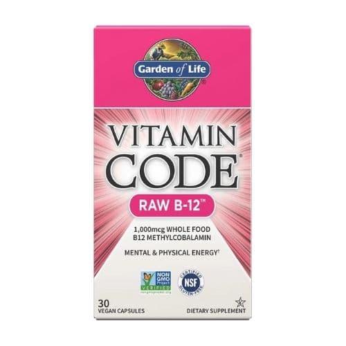 Best Vitamin B12 Supplement - Garden of Life Vitamin Code RAW B-12 Review