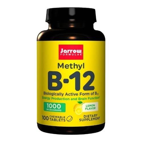 Best Vitamin B12 Supplement - Jarrow Formulas Methyl B-12 Lemon Review