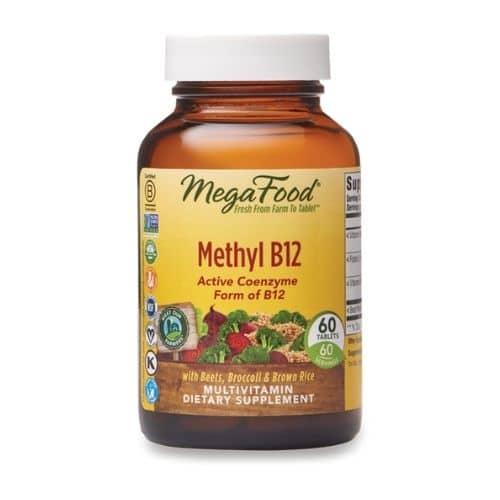 Best Vitamin B12 Supplement - MegaFood Methyl B12 Multivitamin Review