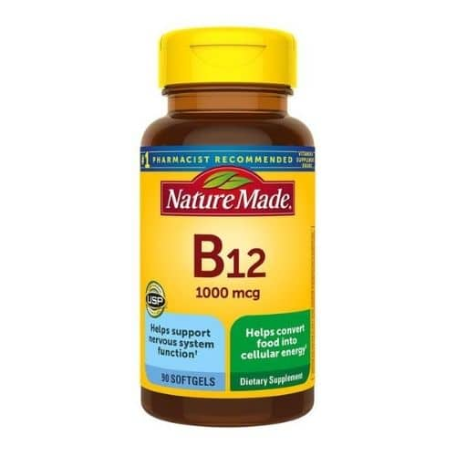 Best Vitamin B12 Supplement - Nature Made Vitamin B12 1000 mcg Softgels Review