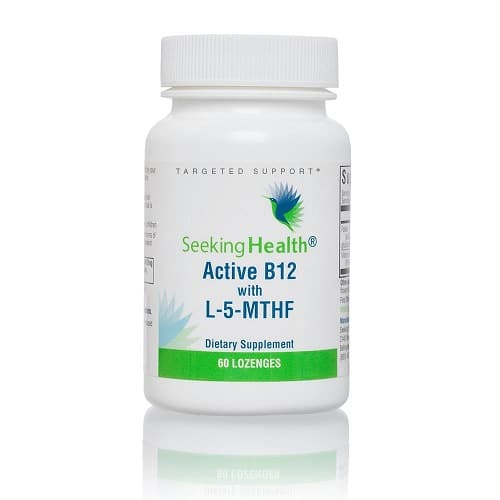 Best Vitamin B12 Supplement - Seeking Health Active B12 With L-5-MTHF Review