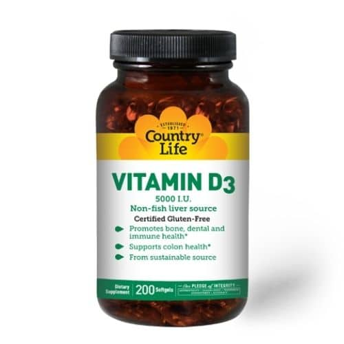 Best Vitamin D Supplement - Country Life Vitamin D3 5,000 I.U. Review