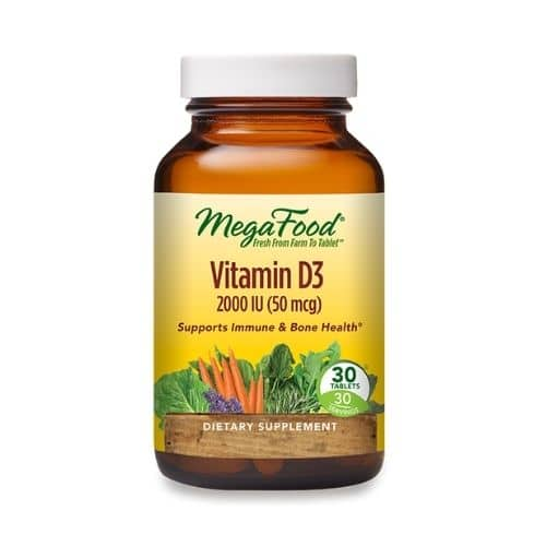 Best Vitamin D Supplement - MegaFood® Vitamin D3 2000 IU (50 mcg) Review