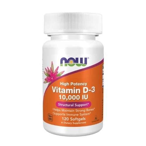 Best Vitamin D Supplement - NOW® Foods Vitamin D-3 10,000 IU Review