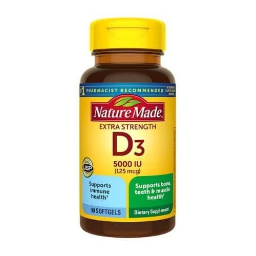 Best Vitamin D Supplement - Nature Made® Vitamin D3 Extra Strength 5000 IU (125 mcg) Review