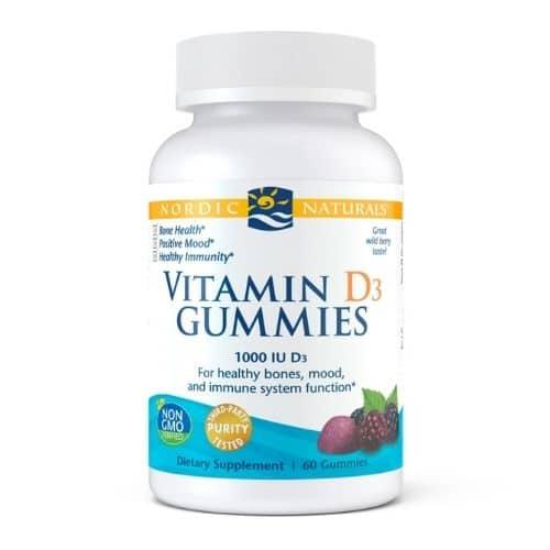 Best Vitamin D Supplement - Nordic Naturals® Vitamin D3 Gummies Review