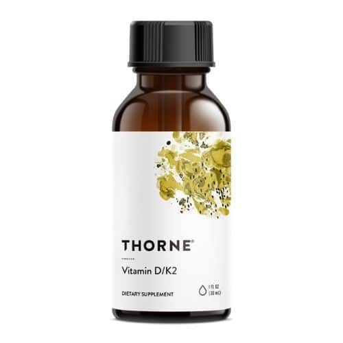Best Vitamin D Supplement - Thorne Vitamin D-K2 Review
