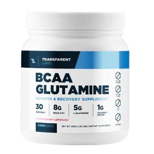 Best BCAA Supplement - Transparent Labs CoreSeries BCAA Glutamine Review