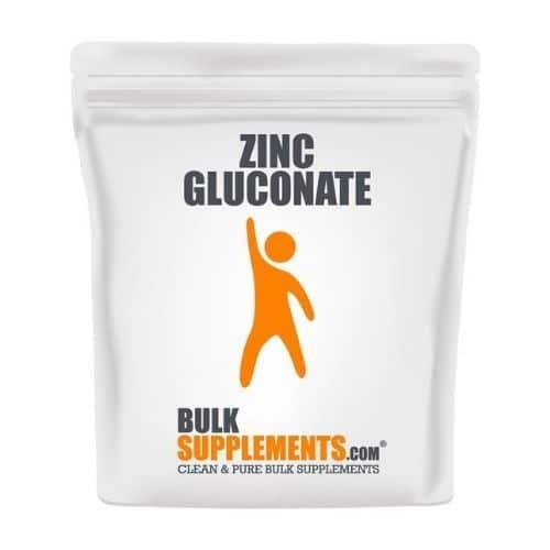 Best Zinc Supplement - BulkSupplements.com Zinc Gluconate Review