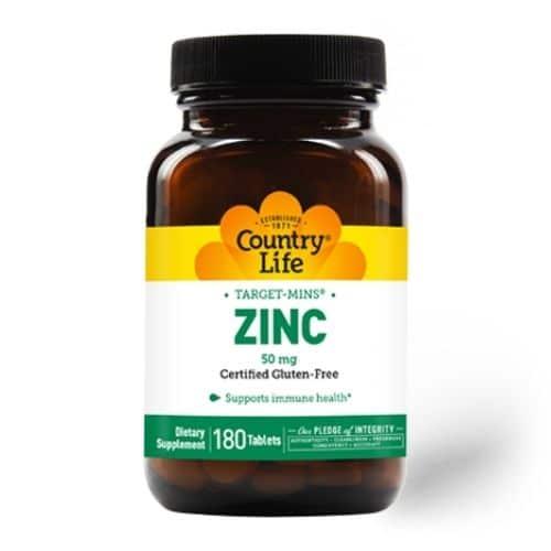 Best Zinc Supplement - Country Life Zinc 50 mg Review