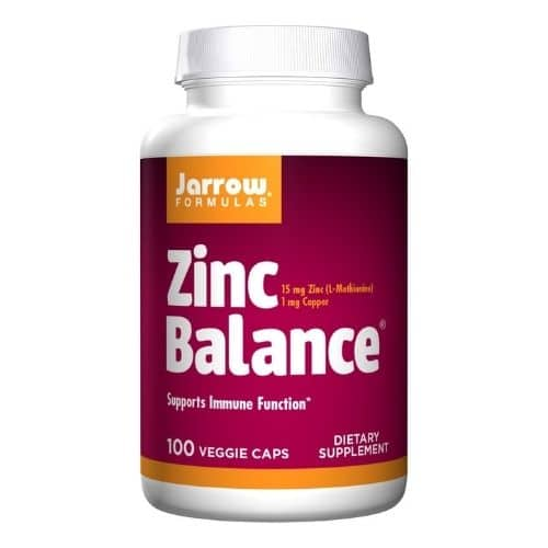 Best Zinc Supplement - Jarrow Formulas Zinc Balance Review
