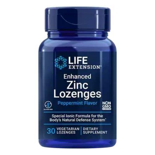 Best Zinc Supplement - Life Extension Enhanced Zinc Lozenges (Peppermint) Review