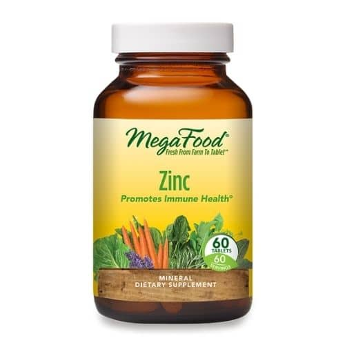 Best Zinc Supplement - MegaFood Zinc Review